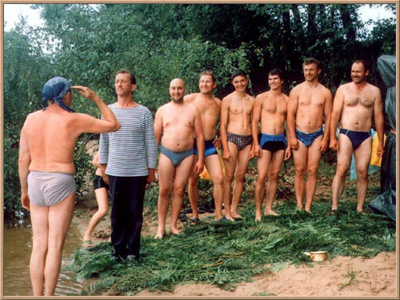 в походе голые фото